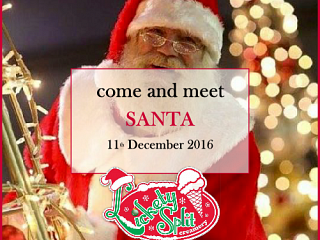 Santa is visiting Lickety Split on Sunday 11th December 2016 (Before he gets too busy  . . . )